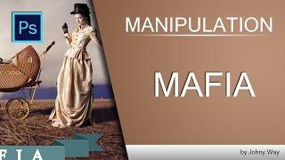 Уроки Фотошопа | Коллаж Mafia Part 1