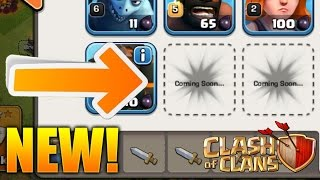Clash of Clans - UPDATE REVEALED! Defense Buff, Golems, Loot Changes! New Troop Talk!