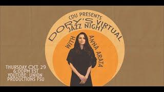 CDU Presents: Dory's Virtual Jazz Night with Anna Arata