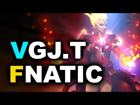 FNATIC vs VGJ.T - Group B Final - GESC INDONESIA MINOR DOTA 2