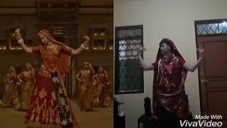 घूमर गाना फ़िल्म पद्मावती में दीपिका का डांस टीचर ....💐💐