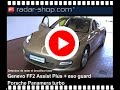 Porsche Panamera turbo Detecteur de radar Genevo FF2 Assist