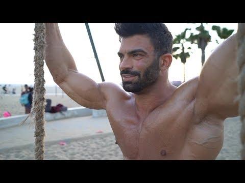Sergi Constance Mr. Olympia Vlog 8 days out Entrenamiento / workout + photoshoot thumbnail