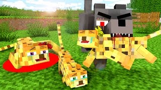 Ocelot Life 3 - Craftronix Minecraft Animation