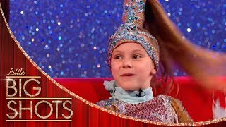 7yr Old Heidi Gives Dawn A Dancer's Makeover | Little Big Shots