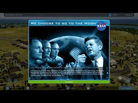 First Gaming Video   Buzz Aldrin's Space Program Manager |