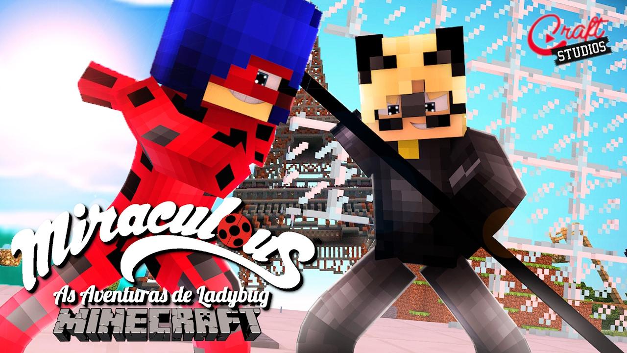 Miraculous As Aventuras De Ladybug No Minecraft Trailer Youtube