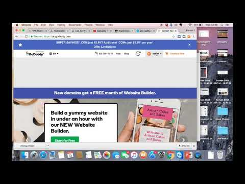 How To Add A Sitemap To Your Website | Simple Godaddy Tutorial
