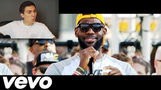 REACTING TO LEBRON JAMES' NEW MUSIC VIDEO DISS TRACK