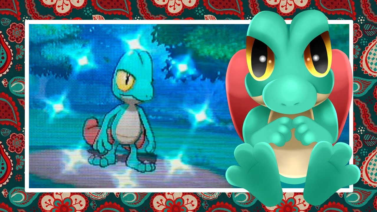 Live Shiny Treecko In Pokemon Alpha Sapphire After Only