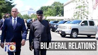 VP Pence Receives VP Osinbajo At The White House