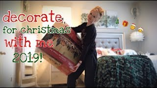 Decorate For Christmas With Me | 2019