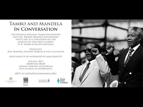 Tambo and Mandela in Conversation