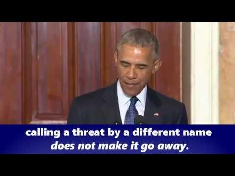 MIC DROP: Obama Tells GOP to Get Serious about Terrorism