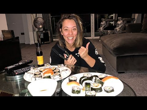 Making Sushi First Time!