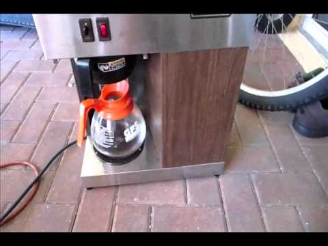 Bunn VPR Coffee maker, how does it work? - YouTube