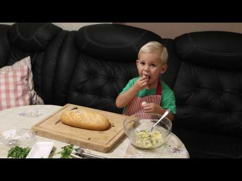 Печёный хлеб с сыром