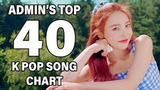 Top 40 K Pop Songs • Admin's Chart (August 2018 - Week 3)