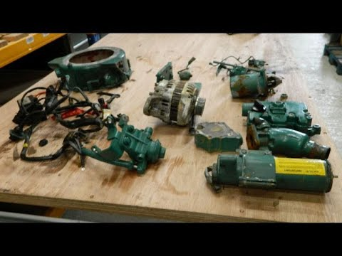 Volvo Penta  D1-13B Marine Diesel Engine Breaking For Spares