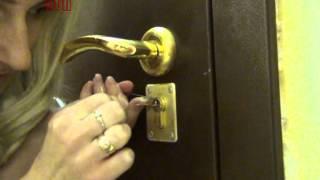 видео установка квартирной сигнализации