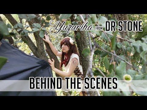Yuzuriha [Dr Stone] Behind The Scenes Photoshoot