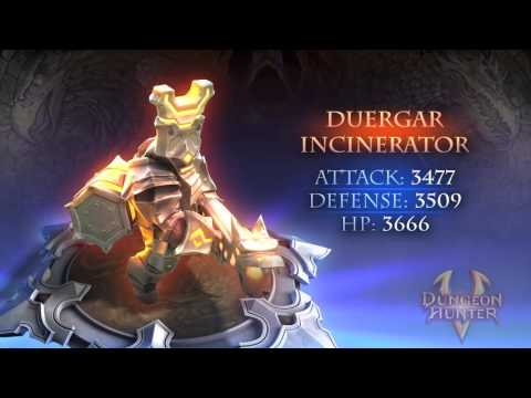 Dungeon Hunter 5 - Gear & Minion Showcase - Northern Storm