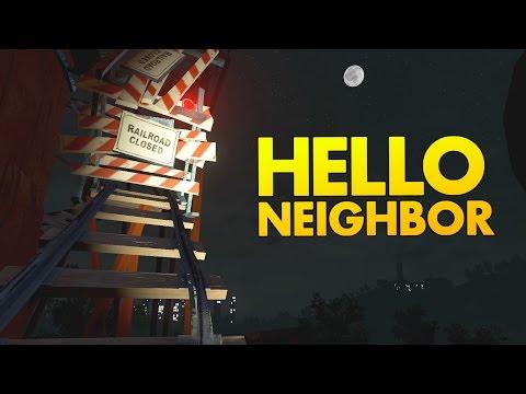 Hello Neighbor - Alpha 3 Ending - Climbing the Tracks! - Alpha 3 Update  Hello Neighbor Alpha Ending