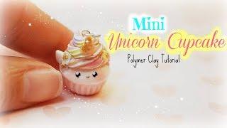 Unicorn Cupcake Kawaii Charm Polymer Clay Tutorial