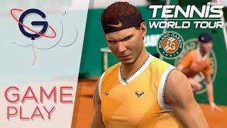 TENNIS WORLD TOUR  : Rafael Nadal à Roland-Garros !
