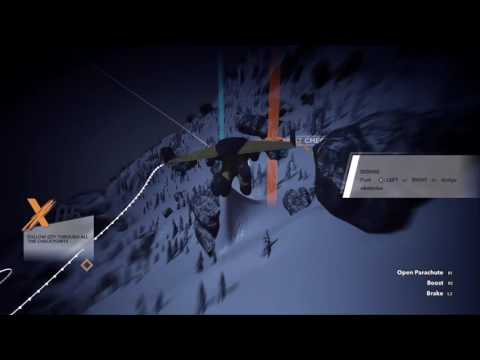 STEEP Jet Pack Rocket Wingsuit Challenge Comet Pass Extreme Pack Alaska