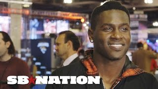 Antonio Brown goes on Super Bowl game show, talks Katy Perry and Gisele Bündchen