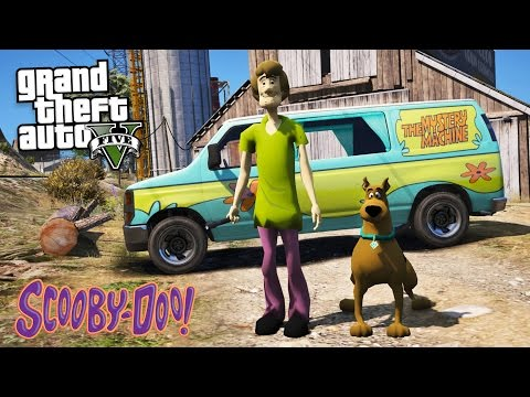 GTA 5 Mods - SCOOBY DOO MOD!! GTA 5 Scooby Doo Mod Gameplay! (GTA 5 Mods Gameplay)