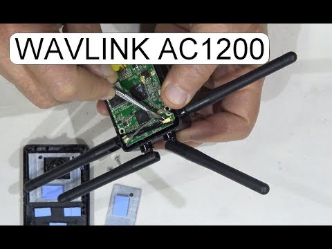 DISASSEMBLE WAVLINK AC1200 WL-WN575A3 WIRELESS AP ROUTER REPEATER
