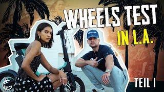 #5 Mit Model auf einem Wheel in Hollywood Teil 1 | Geilnes Test | Slavik Junge
