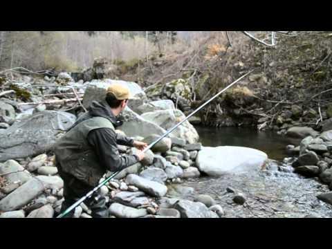 Pesca alla TROTA in TORRENTE con LOMBRICO !!!