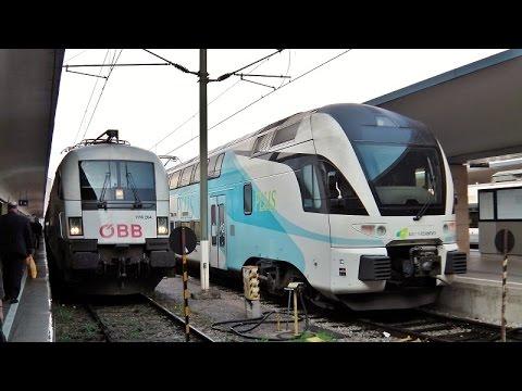 Wien Westbahnhof - Das Bahnvideo in Überlänge [1000 Abonnenten Special]