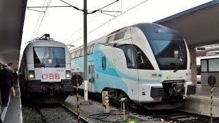 Wien Westbahnhof - Das Bahnvideo in Überlänge | 1000 Abonnenten Special