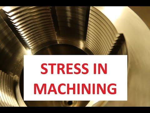 Stress in machining