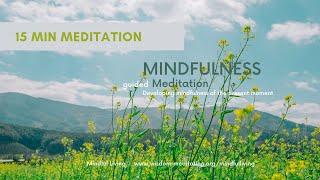 15 Min Guided Mindfulness Meditation