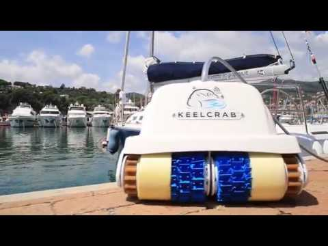 Keelcrab - the hull cleaner drone