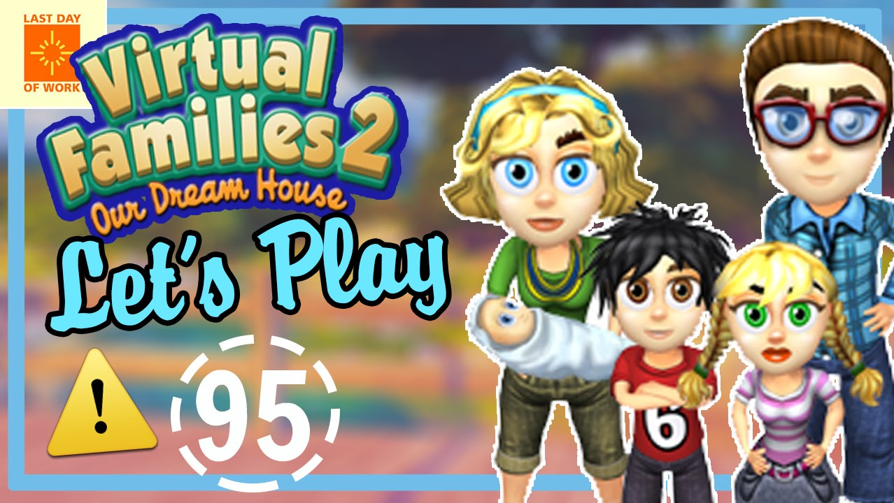 Let's Play Virtual Families 2!   Part 95   EVIL CHILDREN