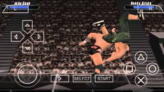 WWE SvR 2008 ppsspp gameplay
