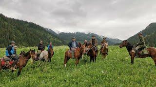 Rajd konny Kazachstan - Góry Tienszan - Czerwiec 2019