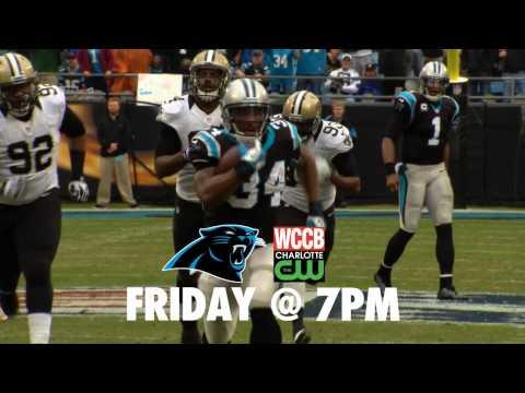 Panthers vs Bills Friday at 7pm on WCCB, Charlotte