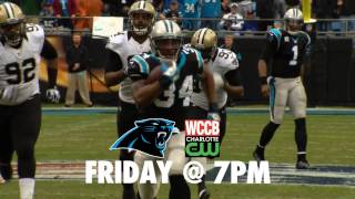 Panthers vs Bills Friday at 7pm on WCCB, Charlotte