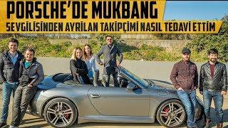 Porsche'de Mukbang | Sevgilisinden Ayrılan Takipçimi Nasıl Tedavi Ettim?