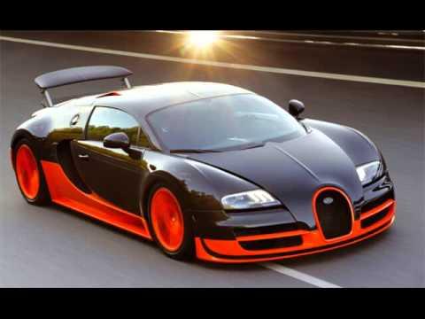 Пет най - бързи коли в света.