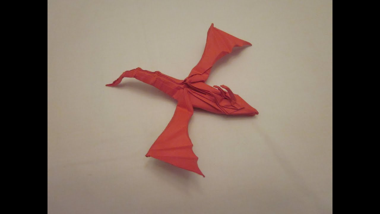 Origami Snake Dragon (Marc Vigo) - YouTube - photo#1