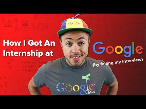 How I FAILED My Interview at Google (and got a job anyway