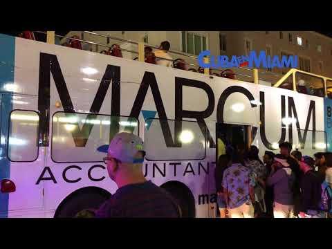 Paseo nocturno por la Calle Ocho de Miami